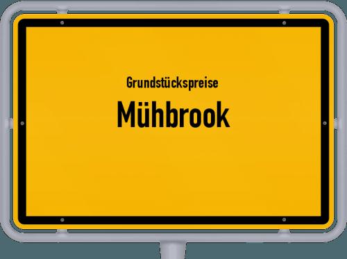 Grundstückspreise Mühbrook 2021