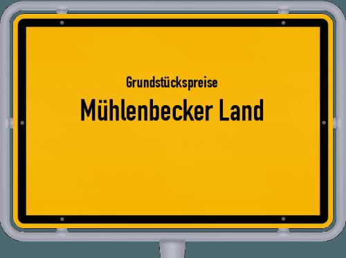 Grundstückspreise Mühlenbecker Land 2021