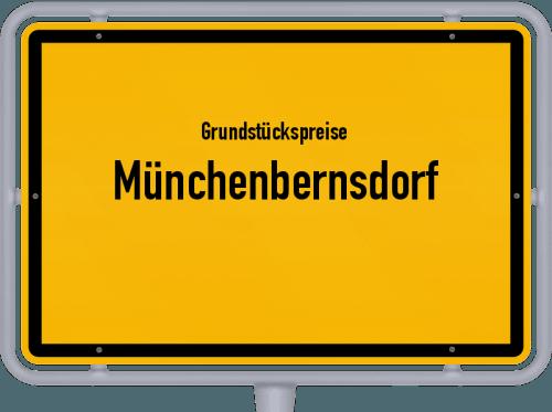 Grundstückspreise Münchenbernsdorf 2019