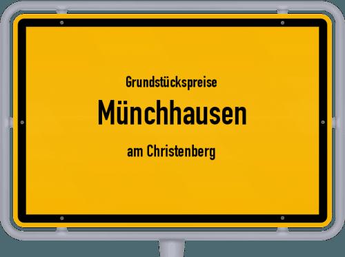 Grundstückspreise Münchhausen (am Christenberg) 2020