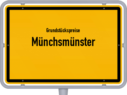 Grundstückspreise Münchsmünster 2019
