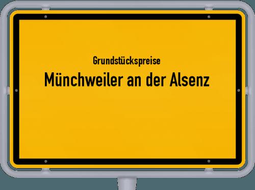 Grundstückspreise Münchweiler an der Alsenz 2019