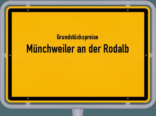 Grundstückspreise Münchweiler an der Rodalb 2019