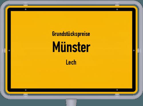 Grundstückspreise Münster (Lech) 2019