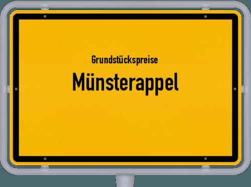 Grundstückspreise Münsterappel 2019