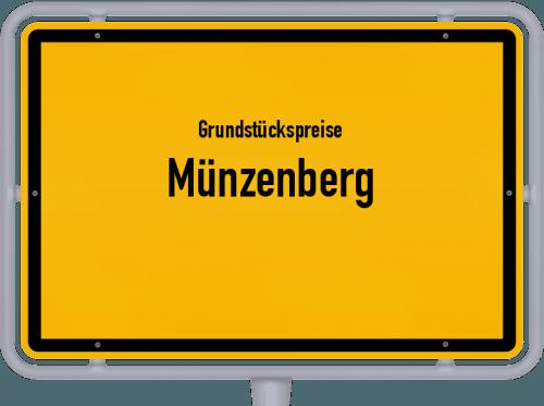 Grundstückspreise Münzenberg 2020