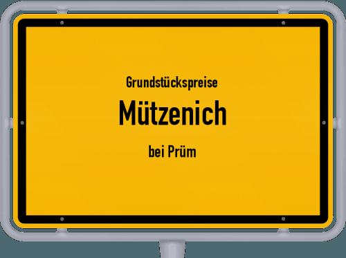 Grundstückspreise Mützenich (bei Prüm) 2019