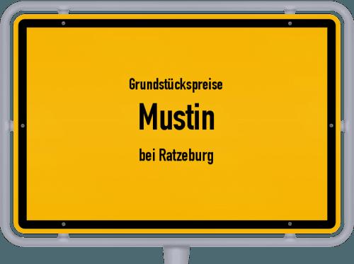 Grundstückspreise Mustin (bei Ratzeburg) 2021