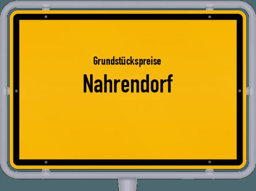 Grundstückspreise Nahrendorf 2021