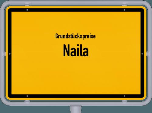 Grundstückspreise Naila 2019