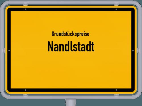 Grundstückspreise Nandlstadt 2019