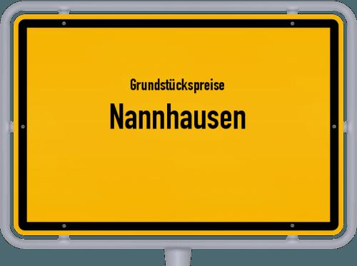 Grundstückspreise Nannhausen 2019