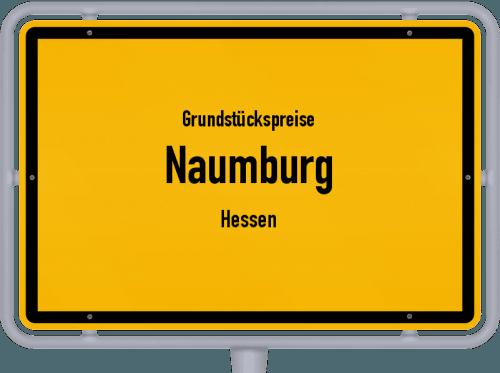 Grundstückspreise Naumburg (Hessen) 2019