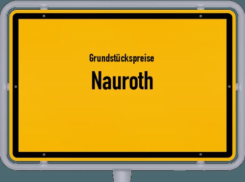 Grundstückspreise Nauroth 2019