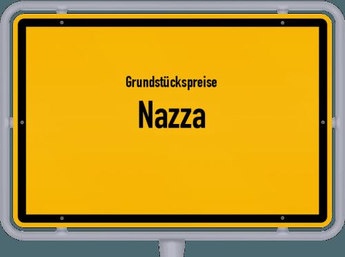 Grundstückspreise Nazza 2019