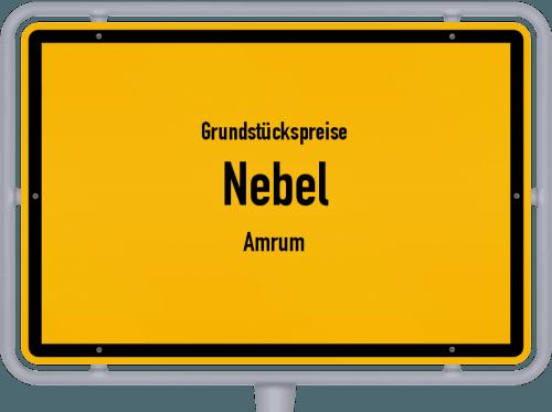 Grundstückspreise Nebel (Amrum) 2021