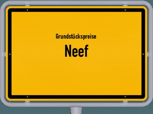 Grundstückspreise Neef 2019