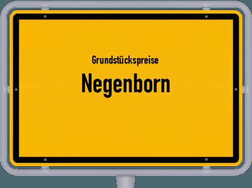 Grundstückspreise Negenborn 2019