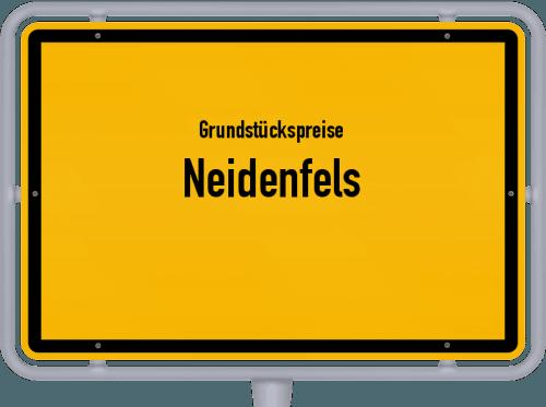 Grundstückspreise Neidenfels 2019