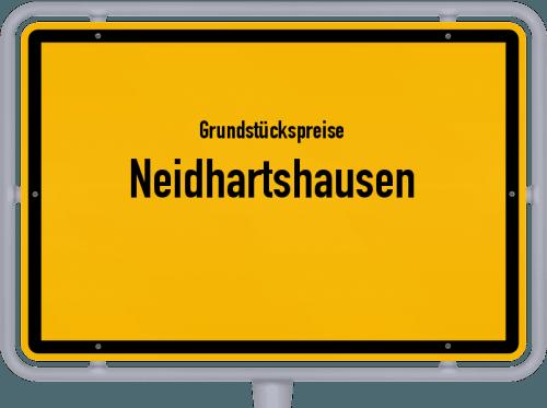 Grundstückspreise Neidhartshausen 2019