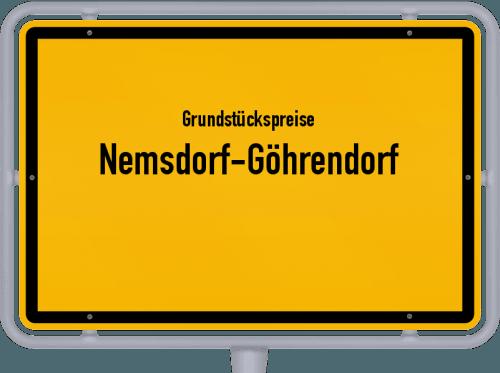 Grundstückspreise Nemsdorf-Göhrendorf 2021