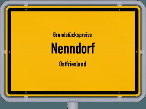 Grundstückspreise Nenndorf (Ostfriesland) 2019