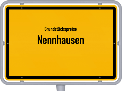 Grundstückspreise Nennhausen 2021