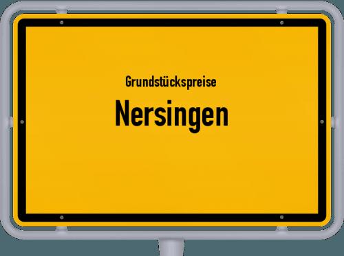 Grundstückspreise Nersingen 2019