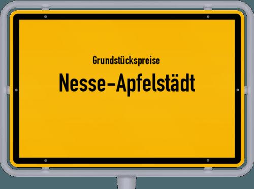 Grundstückspreise Nesse-Apfelstädt 2019