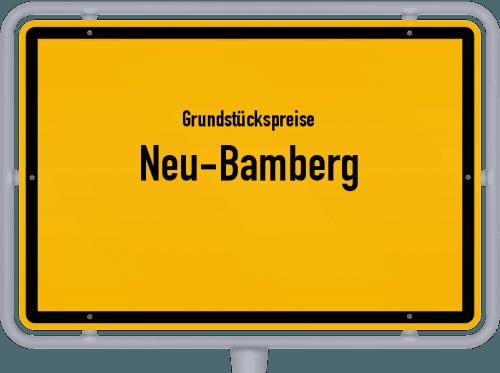 Grundstückspreise Neu-Bamberg 2019