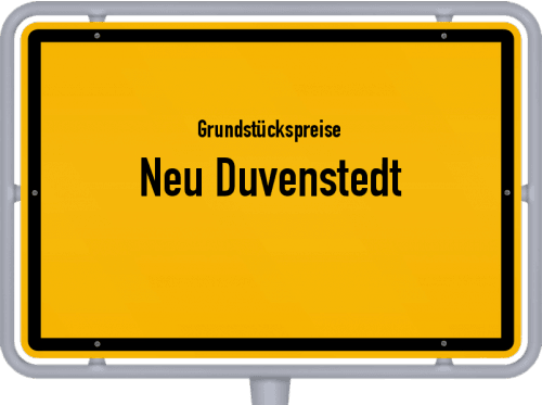 Grundstückspreise Neu Duvenstedt 2021