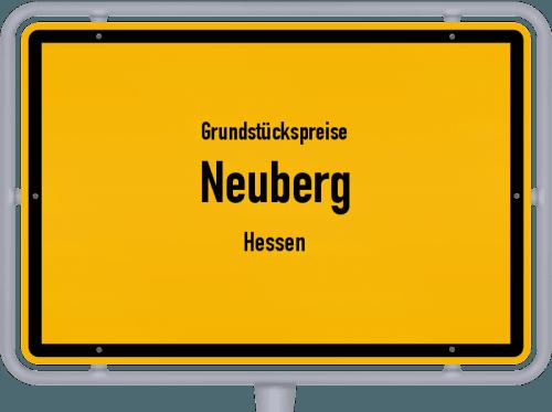 Grundstückspreise Neuberg (Hessen) 2018