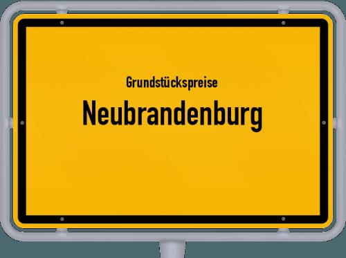 Grundstückspreise Neubrandenburg 2021