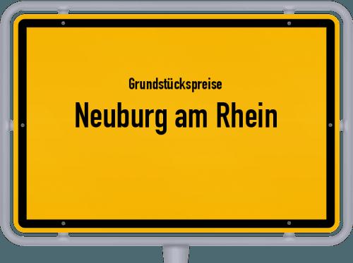 Grundstückspreise Neuburg am Rhein 2019