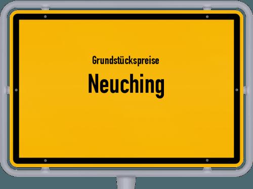 Grundstückspreise Neuching 2021