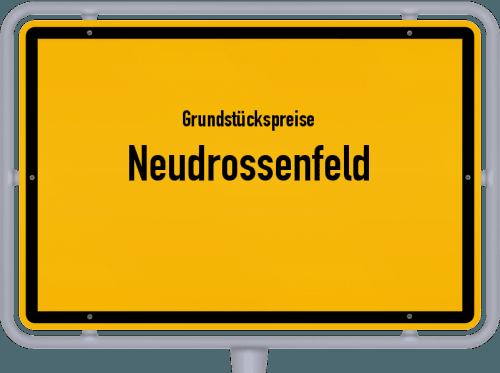 Grundstückspreise Neudrossenfeld 2019