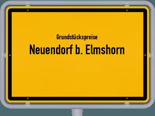 Grundstückspreise Neuendorf b. Elmshorn 2021