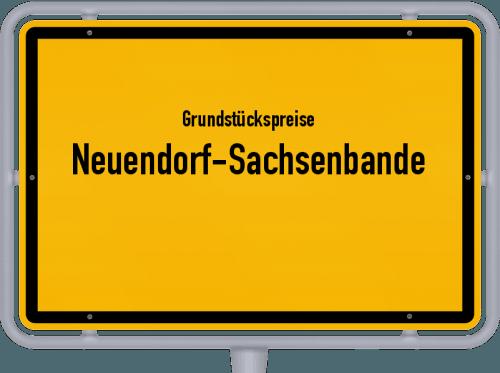 Grundstückspreise Neuendorf-Sachsenbande 2021