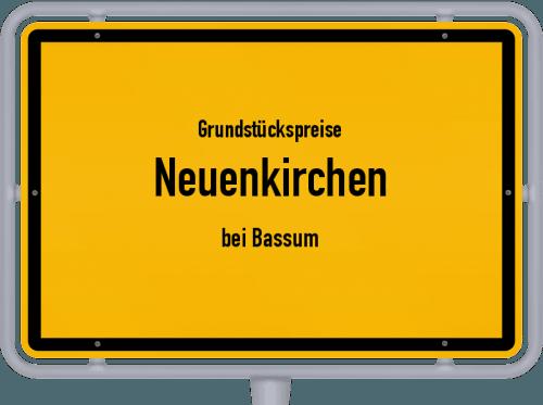 Grundstückspreise Neuenkirchen (bei Bassum) 2019