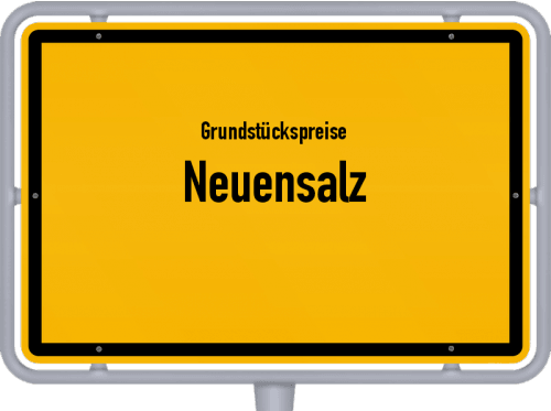 Grundstückspreise Neuensalz 2019