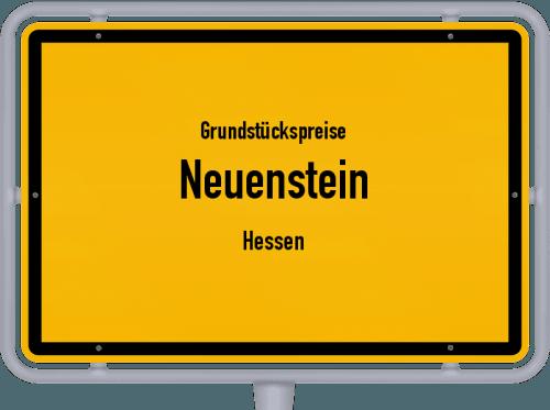 Grundstückspreise Neuenstein (Hessen) 2018