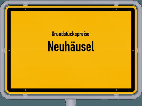 Grundstückspreise Neuhäusel 2019