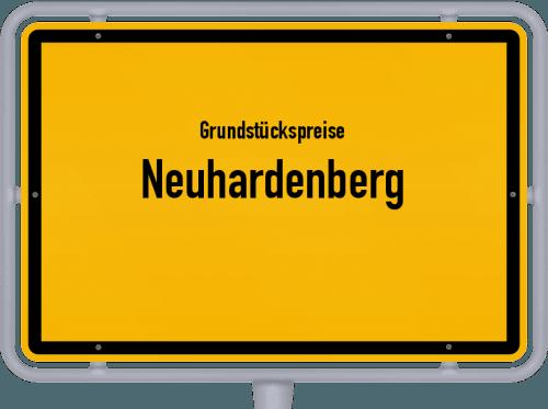 Grundstückspreise Neuhardenberg 2021