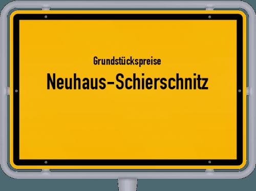 Grundstückspreise Neuhaus-Schierschnitz 2019
