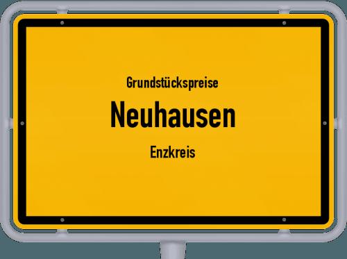 Grundstückspreise Neuhausen (Enzkreis) 2021