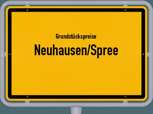 Grundstückspreise Neuhausen/Spree 2021
