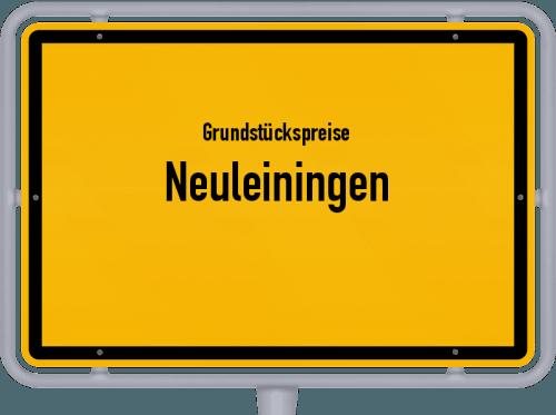 Grundstückspreise Neuleiningen 2019