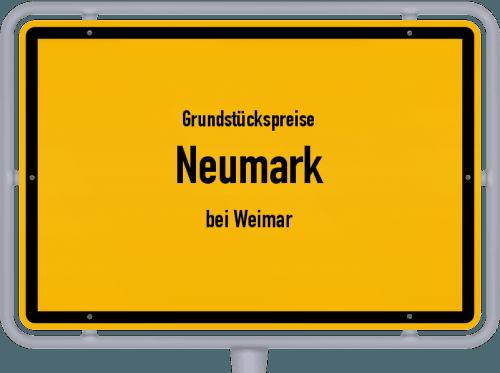Grundstückspreise Neumark (bei Weimar) 2019