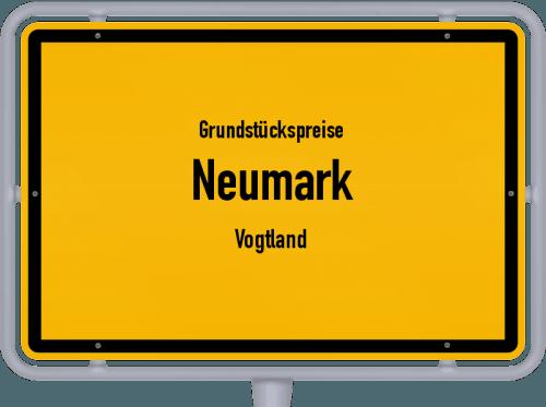 Grundstückspreise Neumark (Vogtland) 2019