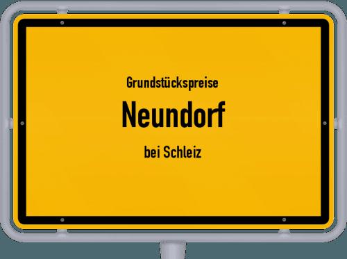 Grundstückspreise Neundorf (bei Schleiz) 2019